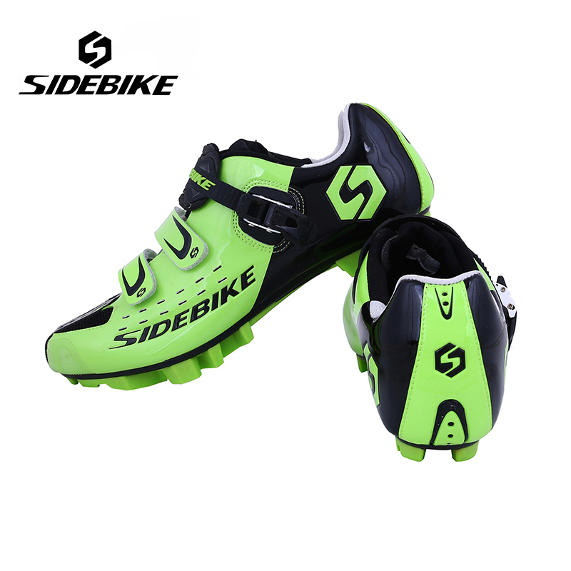 Sidebike Professional Athletic Bicycle Sports Shoes Cycling MTB Bike Shoes Mountain Shoes Unisex MTB Self-Locking Shoes ethnic magnet clasp layered beaded tassels bracelet for women