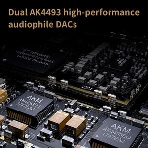 Image 4 - FiiO M11 HIFI Audio Android based Bluetooth Lossless Portable Music Player MP3 USB DAC WIFI/Air Play/Spotify aptx HD/LDAC DSD