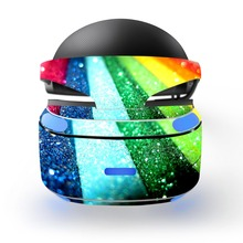 rainbow decal PSVR Skin Sticker for Sony Playstation PS VR Headset
