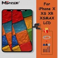 Оригинальный новый дисплей для iPhone X XS XR XS MAX ЖК дисплей с сенсорным экраном дигитайзер Запасные части для iPhone GX X XS MAX lcd