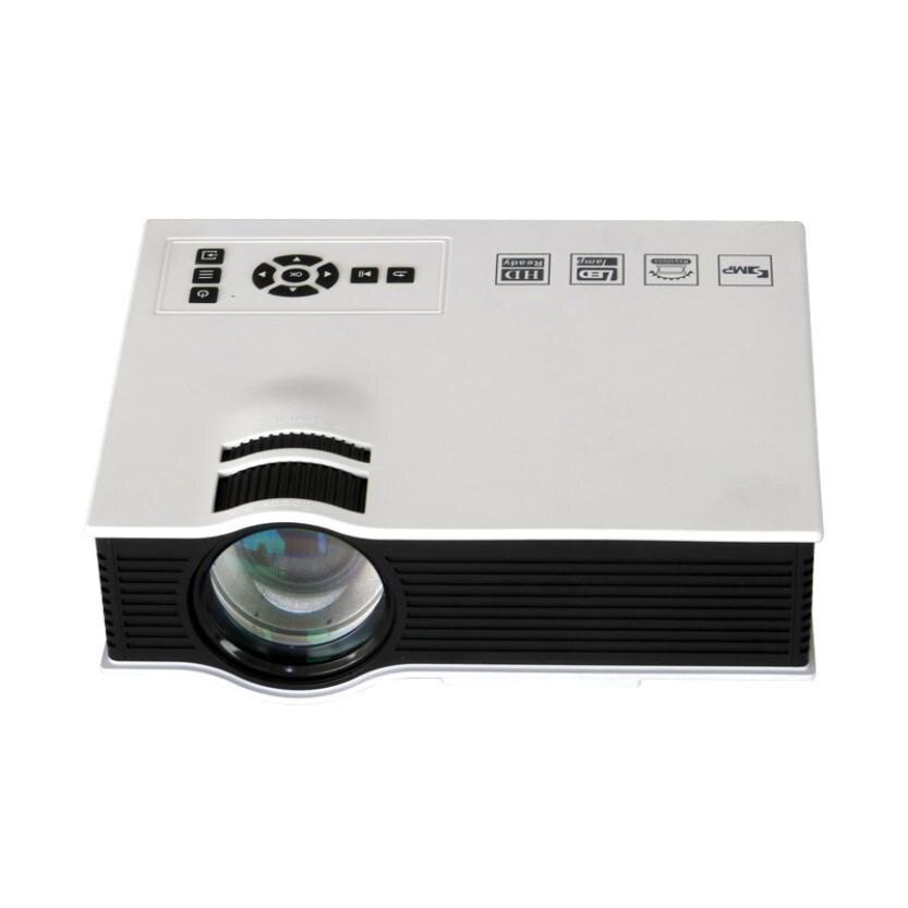 De Calidad Superior Casa Mini LED Proyector Multimedia 1080 P HD HDMI USB Vídeo