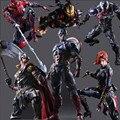 Jogue Arts Kai Figura de Ação de super-heróis Vemon Spiderman Homem de Ferro Thor Capitão América Toy Collectible Modelo Anime Playarts Vingador