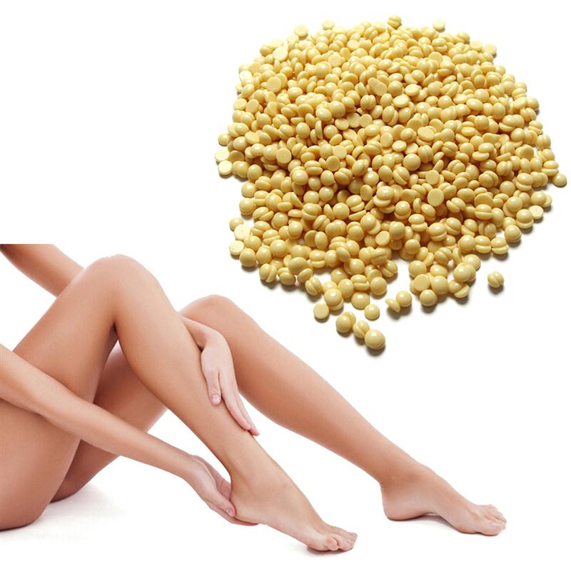 400g Painless Hair Removal No Strips Depilatory Pearl Hard Wax Bead Beans Granules Film Wax Bead For Hair Removal Waxing Bikini 400g hard wax chamomile flavor hot film wax beans brazilian hair removal cream body waxing epilation for beauty