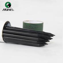 24 szt Szkic ołówek węglowy neutralny miękki drewniany malarstwo szkic ołówek węglowy narzędzia do rysowania szkoła artysta materiały malarskie tanie tanio Drewna