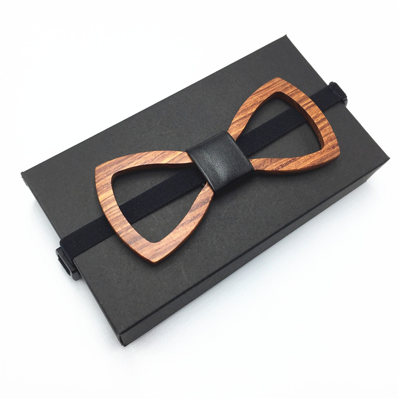Best wooden Bowtie Butterfly Ties For Men Boys Wooden Bow Tie Classic Style Handsome Man Accesorry