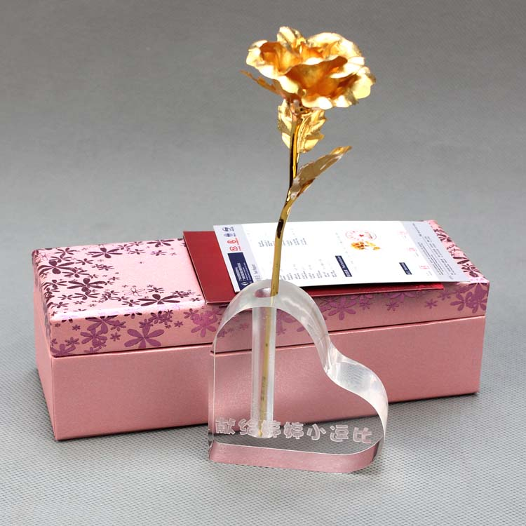 24k Gold Roses Valentines Day Gift Ideas To Send Men And Women