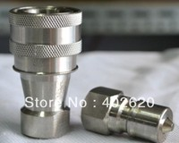 KZE1 8 1 8 Quick Coupler Stainless Steel Material Quick Connectors Hydraulic Fittings Fast Shipping
