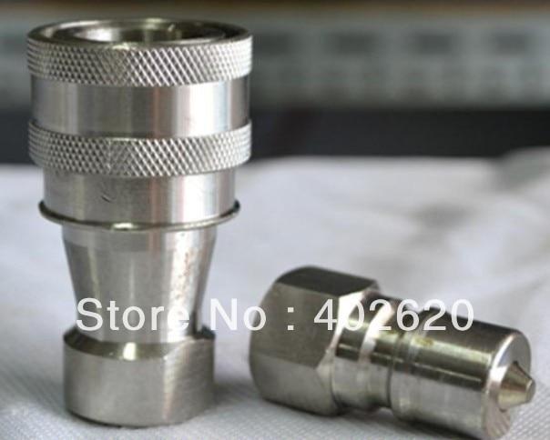 Kze1 8 1 8 acoplamiento r pido material de acero for Precio ascensor hidraulico 3 paradas