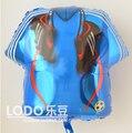 Globos de papel de Aluminio anagrama Grande Fiesta Birtyday Decoración Impresa jersey de fútbol zapatos de los deportes tamaño del balón 61*56 cm