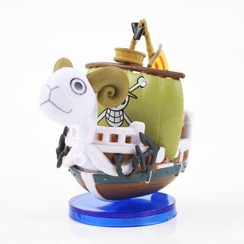 Figuras de Going Merry y Thousand Sunny de One Piece (7cm) Figuras de One Piece Merchandising de One Piece