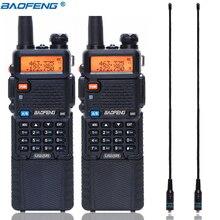 BaoFeng UV-5R 5 Вт с 3800 мАч длинной литий-ионной батареей двухстороннее cb ham радио двухдиапазонный VHF UHF UV5R трансивер рация
