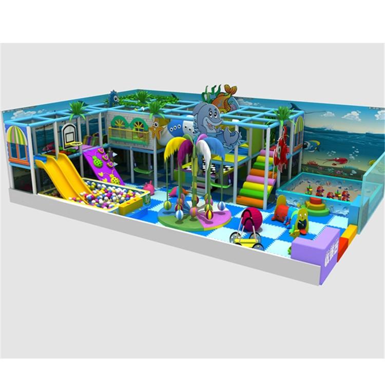 children play centre Home restrant big size soft playground pirate ...