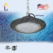 1pc/lot UL DLC led UFO high bay light lamp 100W/150W Industrial ledAC100-277V ip65 5 years warranty ufo ceiling
