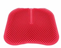 3D Car Seat Cushions Massage Silicone Breathable Silica Gel Auto Car Covers Office Sofa Chair Cushion