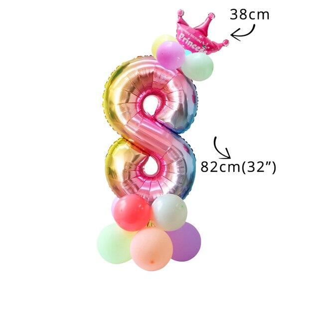 16pcs balloon kit 8