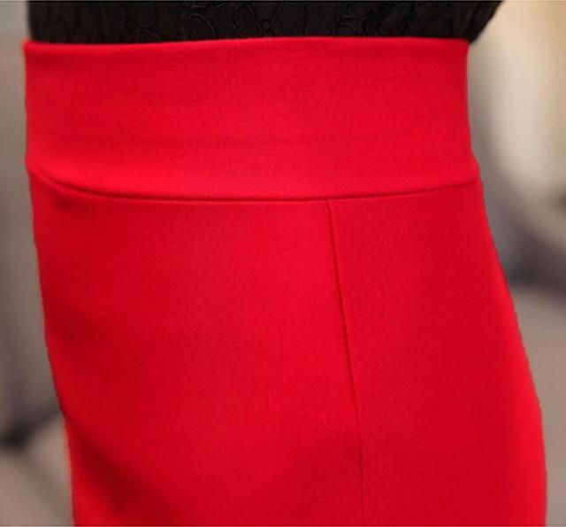Sexy High Waist Plus size slim pencil skirt for Shemale & Crossdresser