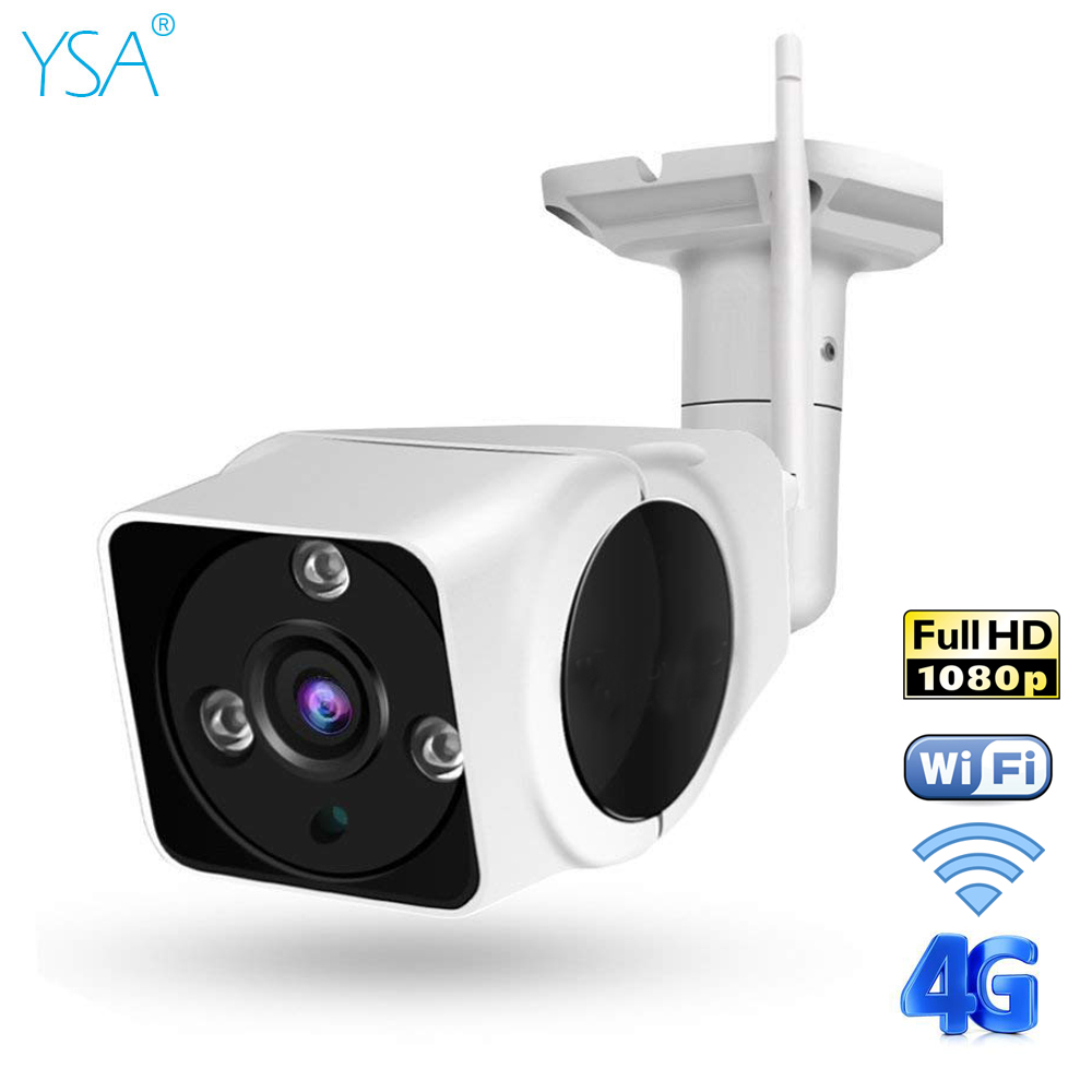 YSA Full-HD 1080P IP Camera Wifi Wireless 3G 4G SIM Card Security Camera Outdoor P2P Surveillance Night Vision CCTV Video CamYSA Full-HD 1080P IP Camera Wifi Wireless 3G 4G SIM Card Security Camera Outdoor P2P Surveillance Night Vision CCTV Video Cam