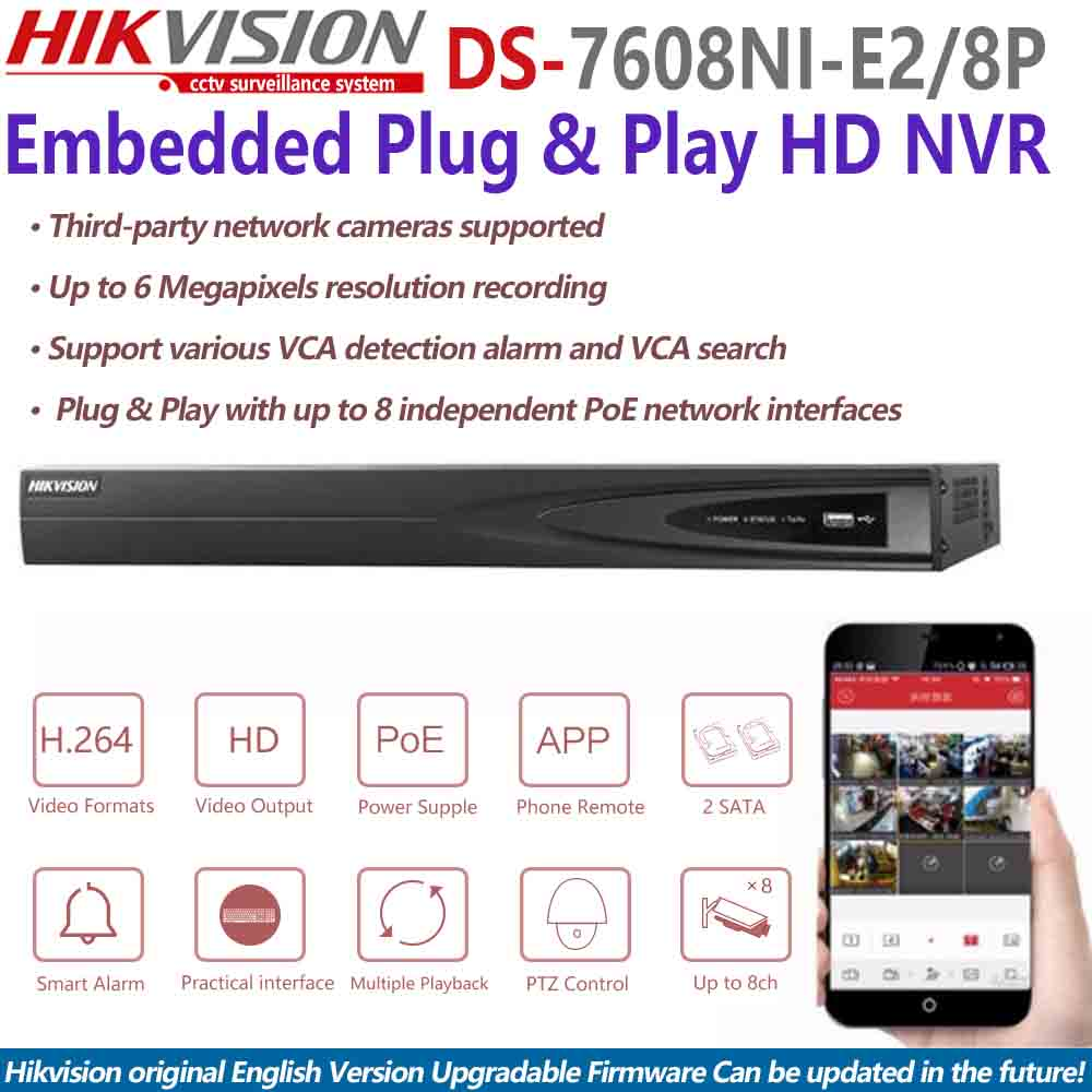 top 10 largest hikvision poe nvr brands and get free