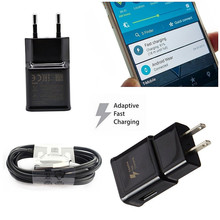 Fast Charger 1.2M Type C Cable Charging 9V1.67A/5V2A Wall EU US Adaptive for Samsung S8 S9Plus Oneplus Android Micro Phone Quick цены