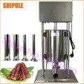 Alta capacidade 25L vertical elétrico de aço inoxidável máquina de enchimento de salsicha comercial fabricante de carne de salsicha stuffer salsicha