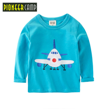 Pioneer Camp Kids 2017 Boys T-shirt Baby Boy T shirt Children Blouse Clothing For Boys Autumn Spring Long Sleeve Cotton Tops&Tee