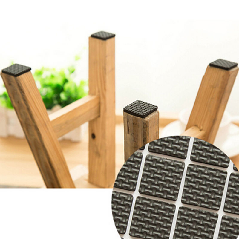 Kitchen Chairs Scratch Wood Floor: 12 Pcs Furniture Legs Feet Sticky Mat Sticky Pad Protect