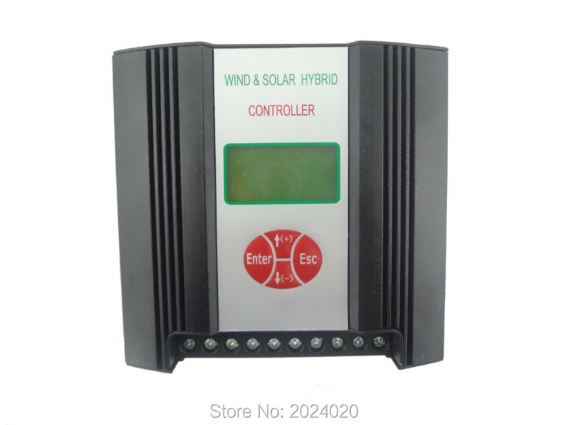 300W 12V(AC input) Hybrid Wind Solar Charge Controller, wind charge controller, wind regulator, wind controller free shipping 600w wind grid tie inverter with lcd data for 12v 24v ac wind turbine 90 260vac no need controller and battery
