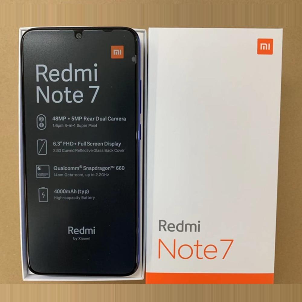 En Stock Version mondiale Xiaomi Redmi Note 7 6.3