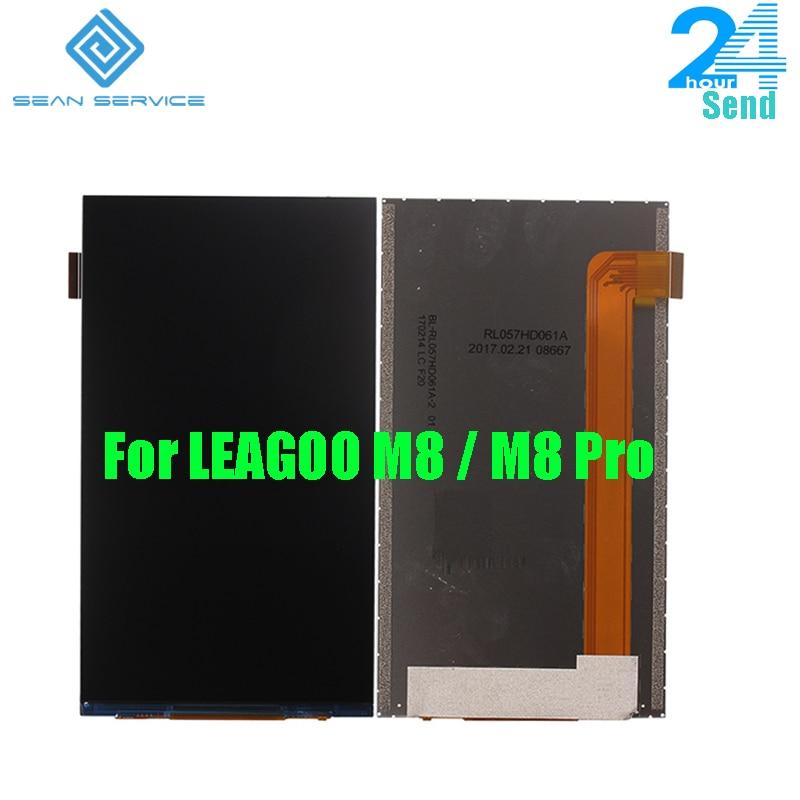 Für Leagoo M8 LCD Display Handy Teile Für Leagoo M8 Pro LCD-Display Freies verschiffen auf lager