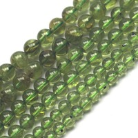 4mm 5mm 6mm Natural Peridot Beads Natural GEM Stone Beads DIY Loose Beads For Jewelry Making