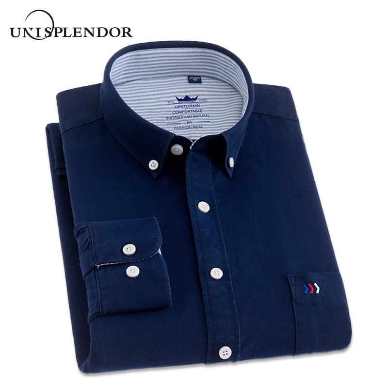 2018 Men Dress <font><b>Shirts</b></font> Business Long Sleeve Plus Size Men's <font><b>Shirts</b></font> Male Casual <font><b>Shirt</b></font> Man 100% Cotton <font><b>Shirt</b></font> Spring Autumn YN10230