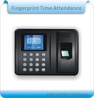 Freeshipping 8GUdisk Biometric Fingerprint Time Attendance Clock Recorder Employee Digital Electronic English Portuguese Voice
