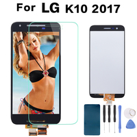 5 3 Original Screen 1280x720 Display For LG K10 2017 LCD With Touch Screen Digitizer K10