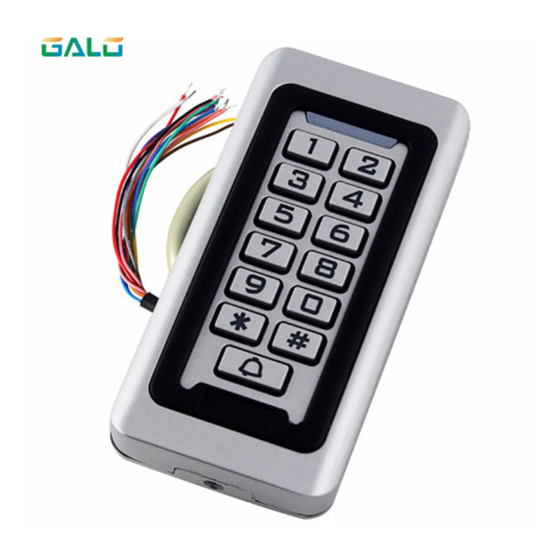 IP68 Waterproof Outdoors Use Metal Stainless steel Reader 2000Users WG input and output security RF Access Control KeypadIP68 Waterproof Outdoors Use Metal Stainless steel Reader 2000Users WG input and output security RF Access Control Keypad