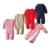 Camisola De Malha do bebê Romper 0-18 Meses Cor Sólida Grossa de Algodão O-pescoço Outono Inverno Infantil Da Menina do Menino da Roupa Do Bebê