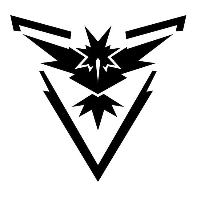 13.5*13 CM Pokemon ĐI Đội Hoàng Bản Năng Vinyl Decal Xe Sticker Zapdos Huyền