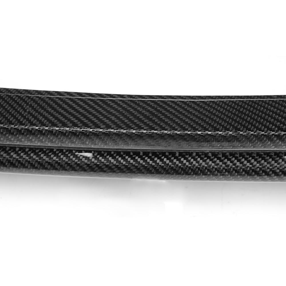 Ön Tampon Difüzör Dudak Karbon Fiber Audi TT 8J Için 2Door Çift - Araba Parçaları - Fotoğraf 4