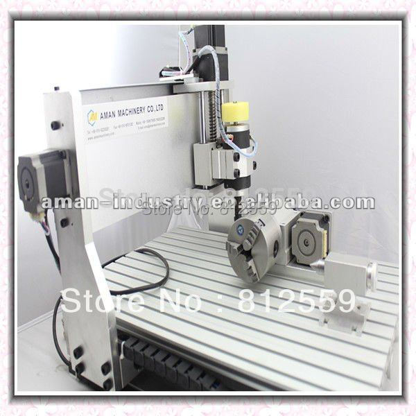 4axis CNC Router 3040 Ballscrew Engraving Drilling And Milling Machine Engraver