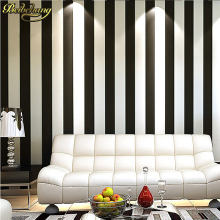 papel de parede. Metallic modern vinyl wallpaper striped background wall classic paper for living room p