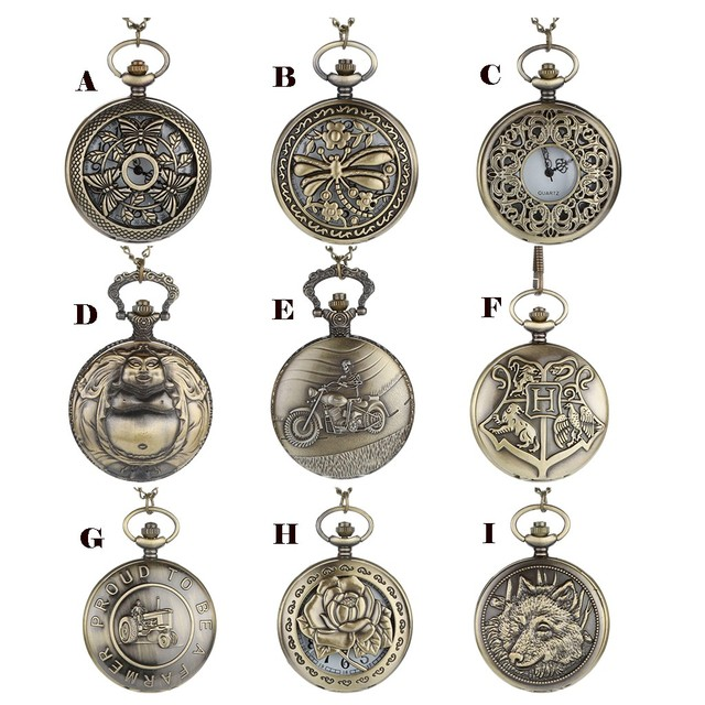 2019 News Arrival Fashion Personalized Pattern Steampunk Vintage Quartz Roman Nu