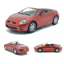 High simulation 1:36 Mitsubishi Roadster Alloy Pull Back Toy Car Model For Kids Birthday Gifts Free Shipping(China)