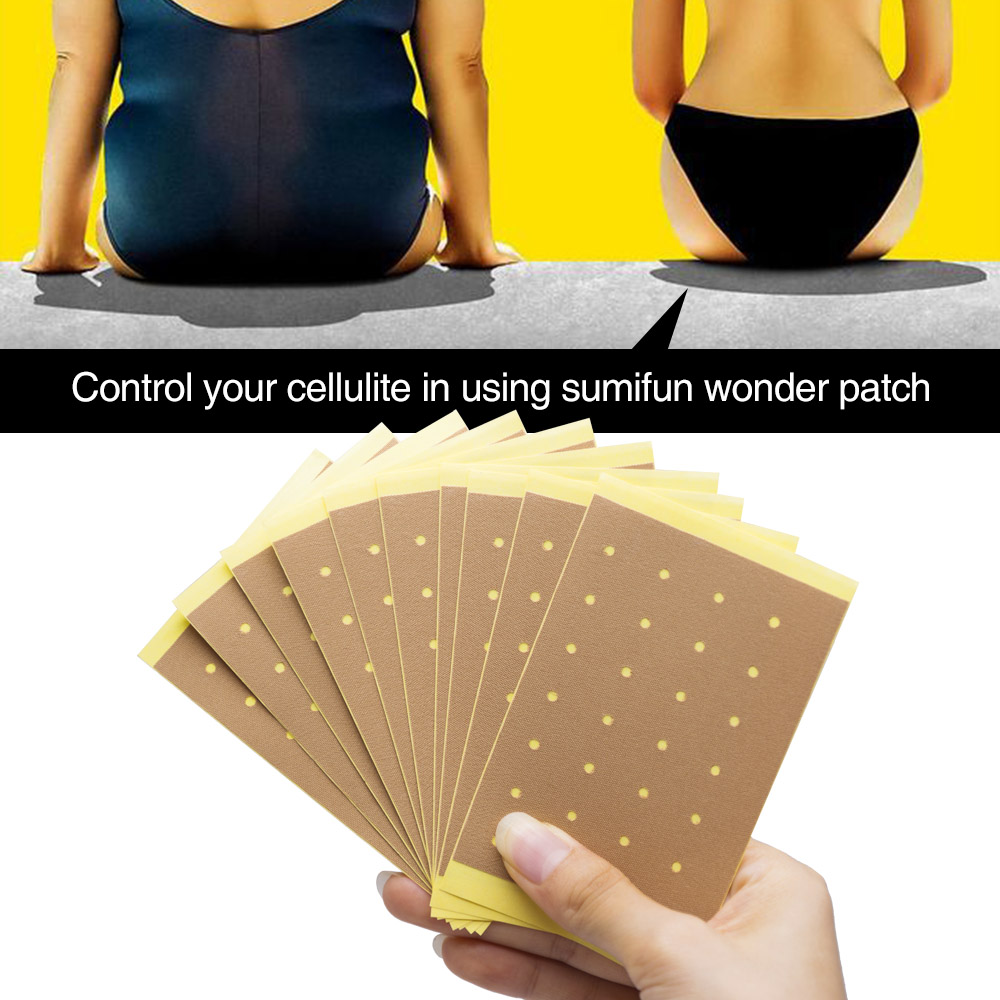 20pieces/Bag Sumifun Weight Lose Paste Navel Slim Patch Health Slimming Patch Slimming Diet Products Detox Adhesive D1482