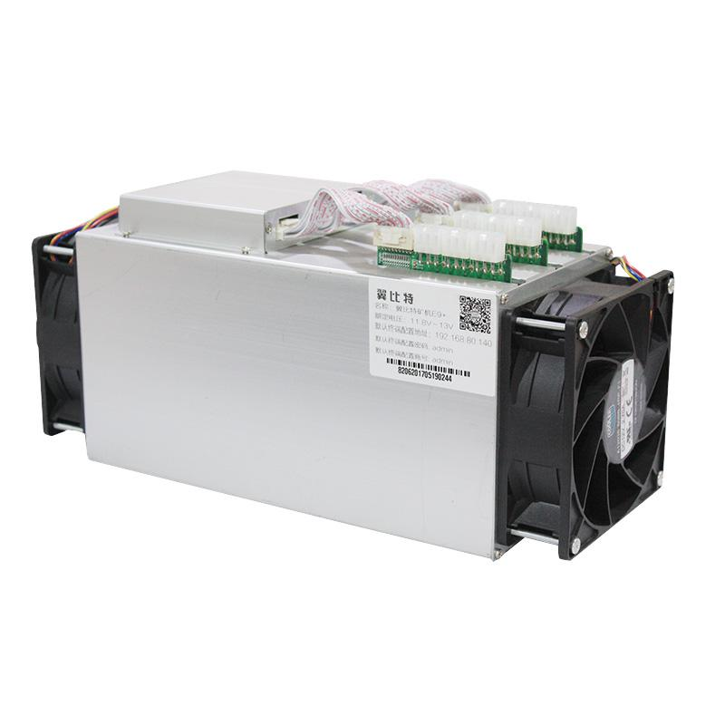 Newest Bitcoin Miner USED Ebit E9 Plus 9T 14nm Asic Miner BTC Miner (with psu) high Cost-effectiv than S9 yunhui antminer s9 11 85t bitcoin miner s9 batch 11 85 th s asic miner btc mining power consumption 1172w