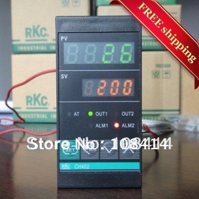 FREE Shipping Oven Digital PID Temperature Controller CH402 Relay Output,Vertical 48*96mm free shipping relay digital pv sv display temperature control meter 0 400c ac220v 50 60hz
