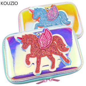 Image 1 - cute unicorn Pencil case estuche trousse scolaire stylo kawaii estuches papeleria stationery cartucheras para lapices escolares