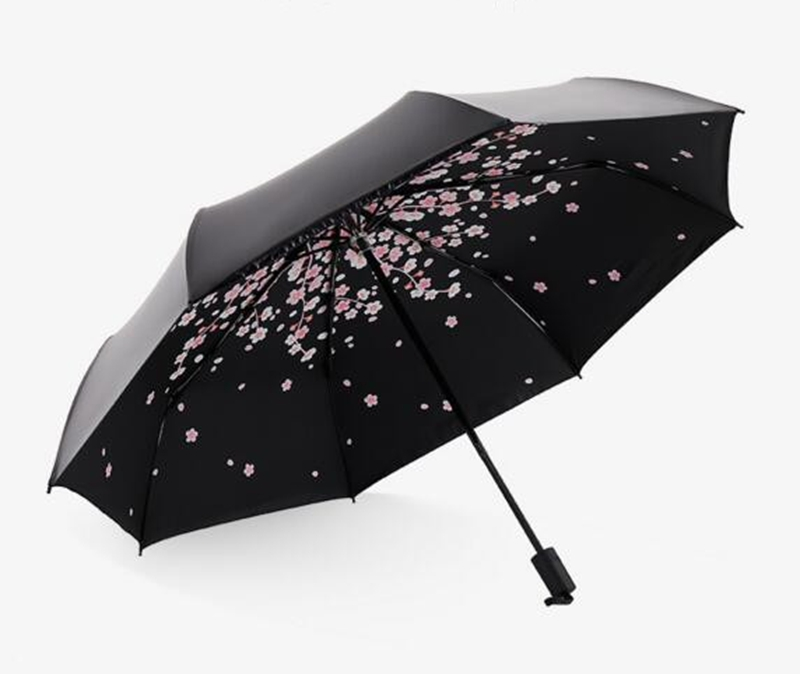 Lagani prijenosni sklopivi trešnja sunce / kiša kišobran upscale - Kućanski robe