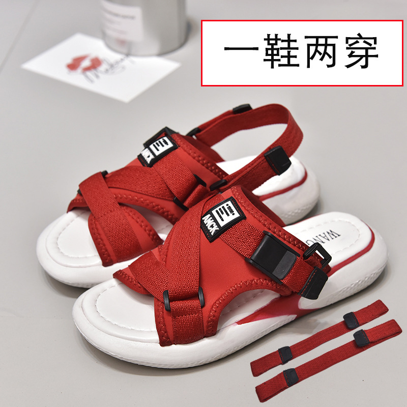 Fashion Leisure Breathable Sports Sandals  Solid Med   Summer Women Sandals Casual Thick Platform Beach Shoes-in Low Heels from Shoes on AliExpress - 11.11_Double 11_Singles' Day 1