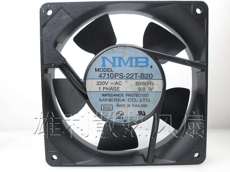Original NMB 4710PS 22T B20 120*120*25MM 9/8W 220V