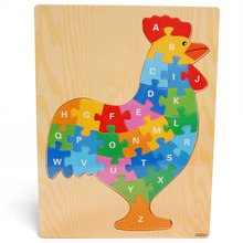 Free shipping, wooden toys, letter puzzle,animal makeup,children's early education puzzle,montessori teaching AIDS,The cock flyingtown montessori teaching aids balance scale baby balance game early education wooden puzzle children toys