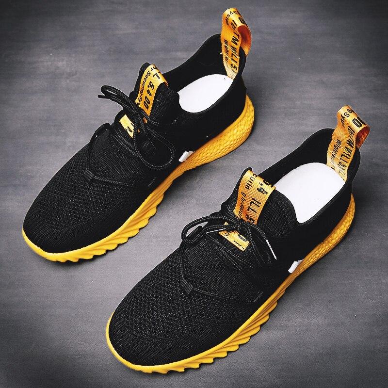 HTB1EOFdJVzqK1RjSZFoq6zfcXXaN 2019 New Casual Shoes Men Breathable Autumn Summer Mesh Shoes Sneakers Fashionable Breathable Lightweight Movement Shoes